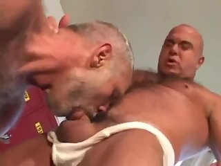 two hot mature men having a ripping good time