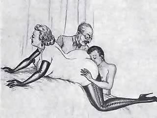 Nieto's Visit [RARE] [*Vintage Bisexual  - Toon]