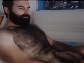 Hot and super hairy