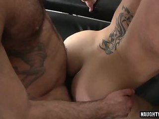 Hot gay flip flop and creampie