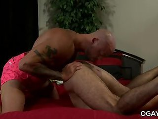 Braxton takes Sean's huge cock deep inside