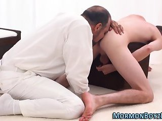Mormon licked and fucked