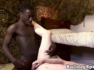 British scally fucked by punks big black cock