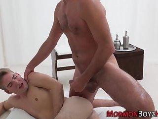 Elder fingers raw asshole