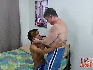 Bareback pounded twink loves being tied up and tickled