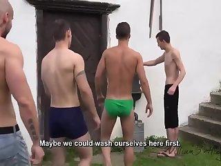Gay boys party