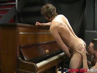 Piano Teacher Fucking His Student
