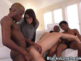 Black amateur group cum