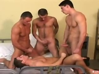 Foursome Hammering On Neighboring Beds