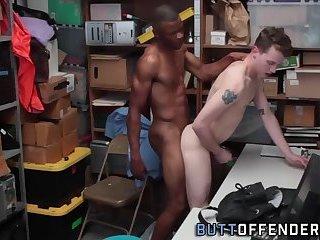 Amateur thief fucked raw