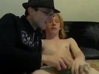 Bigdick nerd fucking on cam