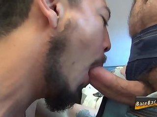 Raw dawged asian spunked