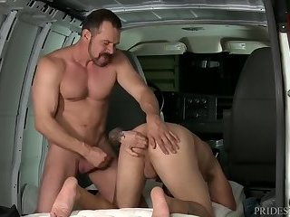High Performance males Hitchin' A messy Ride