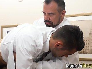 Mormon dudes butt fucked