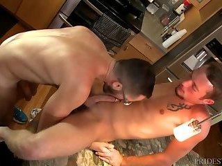 ExtraBigDicks pair filthy pound On Kitchen Counter