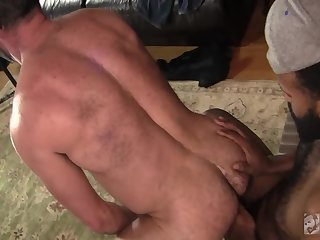 Alec hammers Topher bare