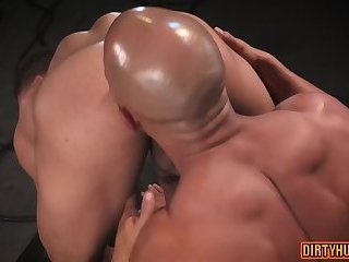 Muscle gay anal with anal cumshot