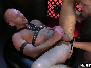 Tattoo gay fetish with cumshot
