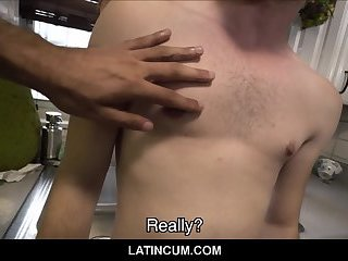 Young Straight Boy Paid By Gay Guy On Street Making Sex Movie POV