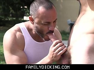 Twink Step Son Lets His Step Dad Fuck Him In Exchange For Letting Him Go Out With His Friend