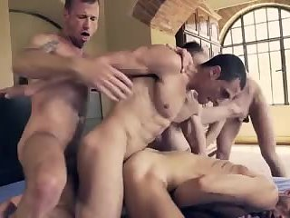 Man Bareback Orgy