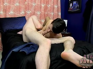 He loves that big bare cock