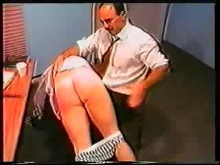 spank in office