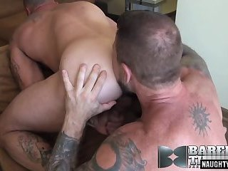 Big dick gay anal sex with cumshot