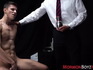 Gay mormons butt railed