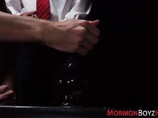 Gay mormon rides bareback