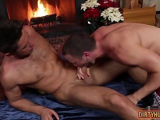 Muscle jock anal sex and cumshot