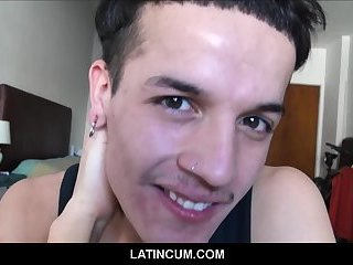 Straight Latino Boy Now Loves Big Cocks Gets Fucked By Two Guys
