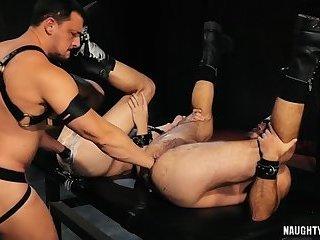 Hot jock fetish and cumshot