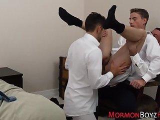 Secretly gay mormons fuck