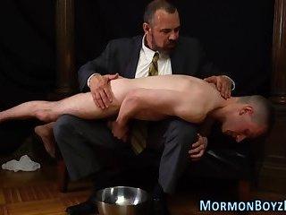 Spanking mormon bishop