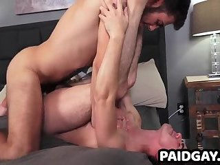 Straight Cuban gets bareback fucked by Ari Nucci