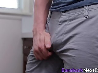 Gay deviant Lance Ford barebacked after pantie sniffing