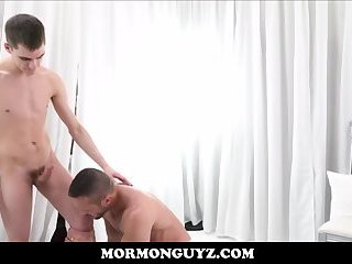 Mormon Twink Boy Fucked By Hunk Church Leader