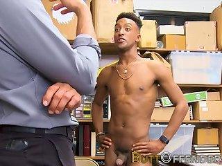 Amateur thief fucked hard