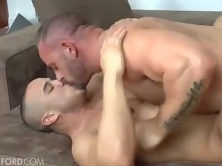 hot daddy and sexy muscle boy