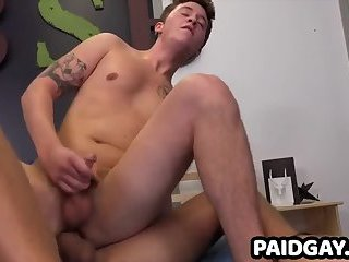 Straight Danny Cannon gets fucked in ass for 1st time