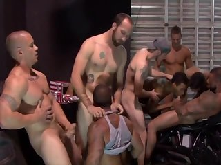 Dirty Biker Gangbang