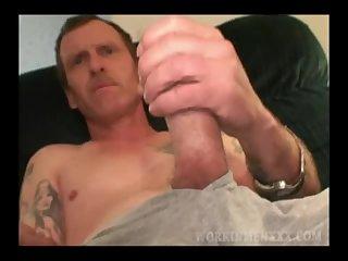 Mature Amateur Ed Jacks Off