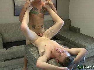 Military dude jizzed on