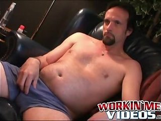 Old guy just loves jerking off his hairy big dick alone