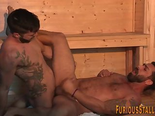 Hairy bear gets fucked