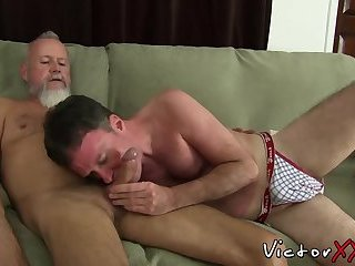Young vs old gay porn