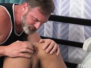 Xchange Student fucked by sexy Daddy pt1