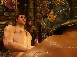 GLADIATOR IN SKYRIM GAY GAME #1