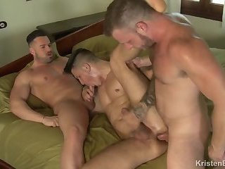 KB – KristenBjorn - Double Trouble – Brian Bonds, Gabriel Lunna & Apolo Fire